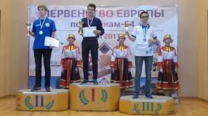 фото Гаязов - чемпион Европы